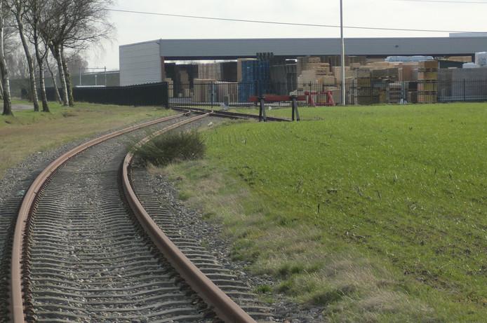 PKF spoorlijn in Roosendaal.