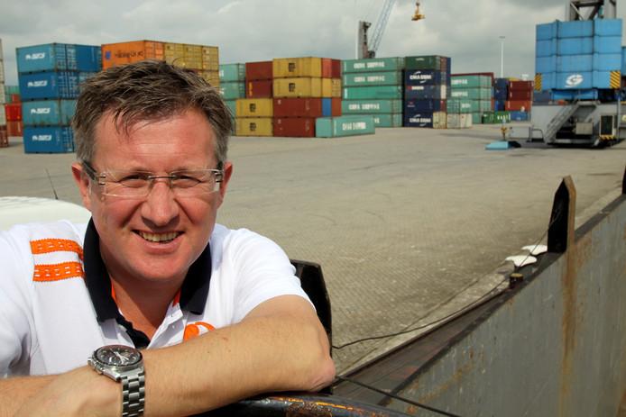 Directeur Luc Smits van de Combined Cargo Terminals op Moerdijk.