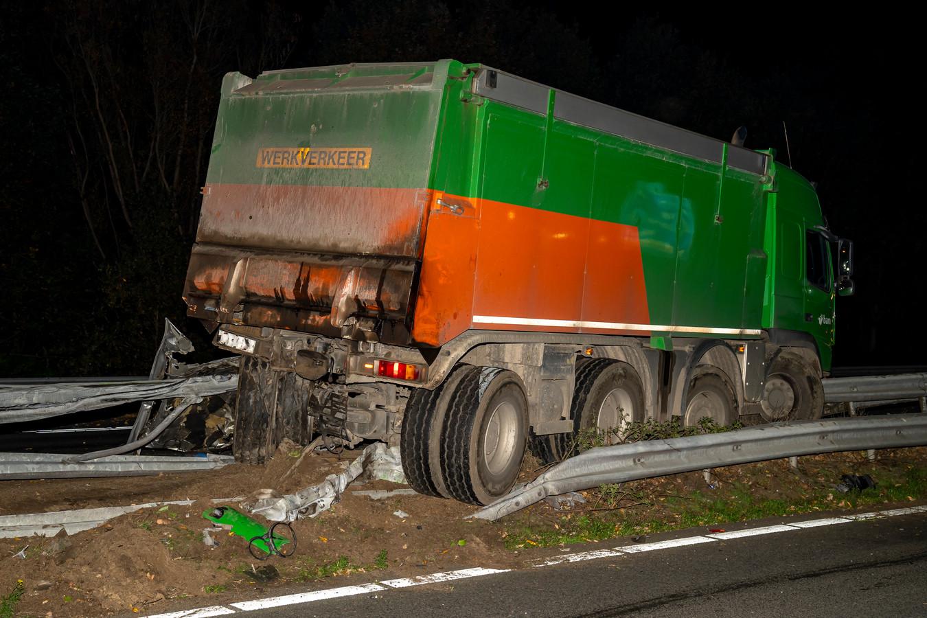 Twee ernstige ongevallen op snelweg A59 bij Made.