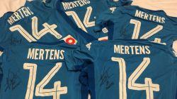 Doe mee aan onze quiz en maak kans op een van de vijf gesigneerde shirts van Dries Mertens!