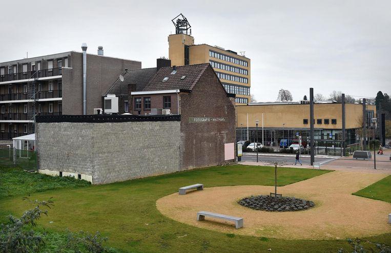 Het gemeentehuis van Brunssum. Beeld null