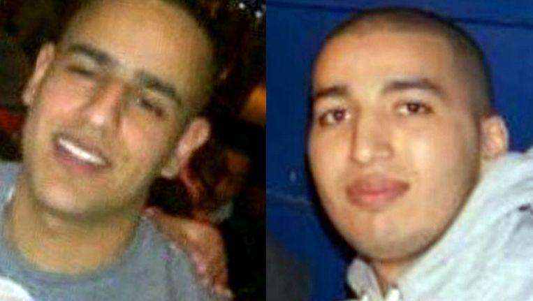 Saïd (links) en Youssef. Beeld Het Parool