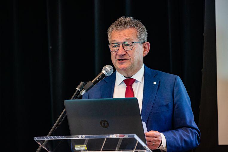 Dirk De fauw, burgemeester van Brugge.  Beeld BELGA