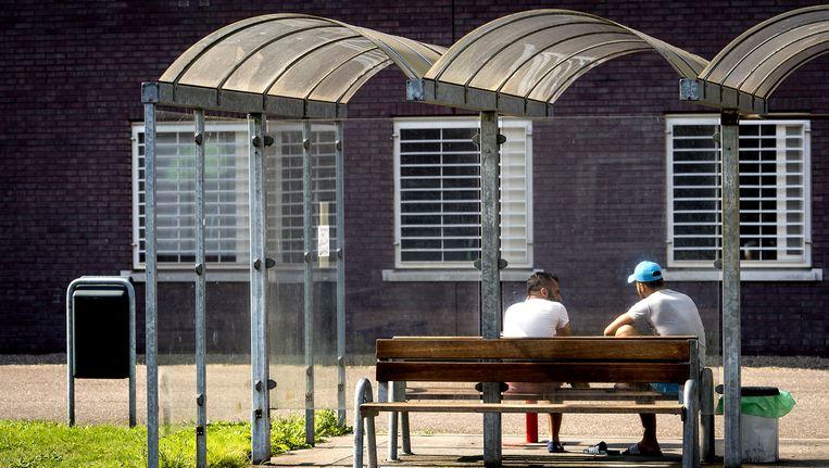 Exterieur van het asielzoekerscentrum De Kruisberg in Doetinchem. Beeld ANP