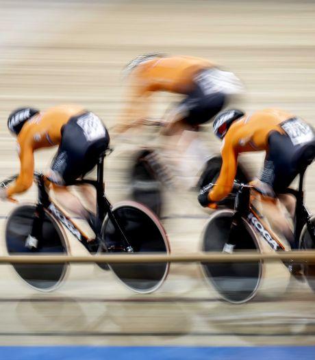Teamsprinters met Nijverdaller Hoogland grijpen wereldtitel in verbluffend wereldrecord
