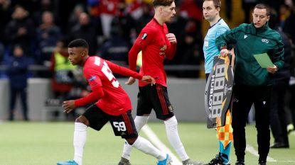 Jonge Belgische flankspeler debuteert in Europa League in hoofdmacht van Manchester United