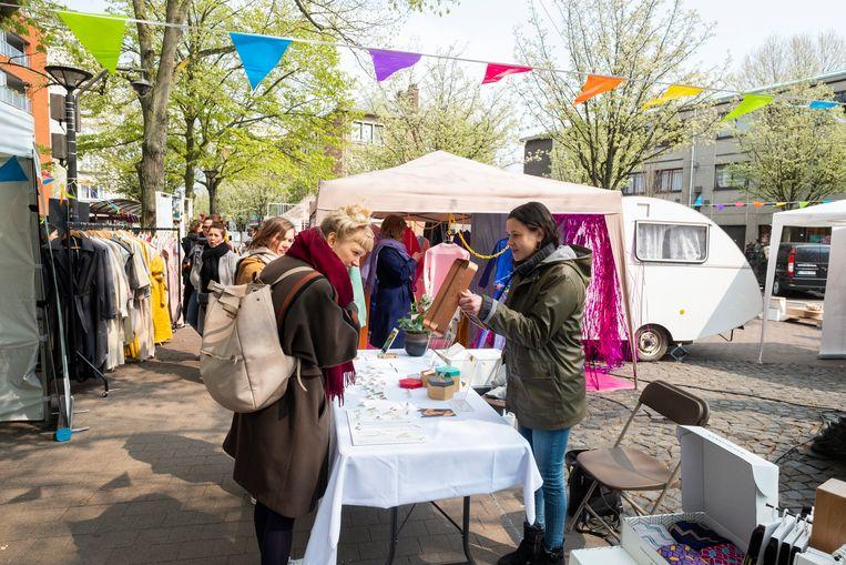 De Markt van Morgen tijdens de vorige editie in april.