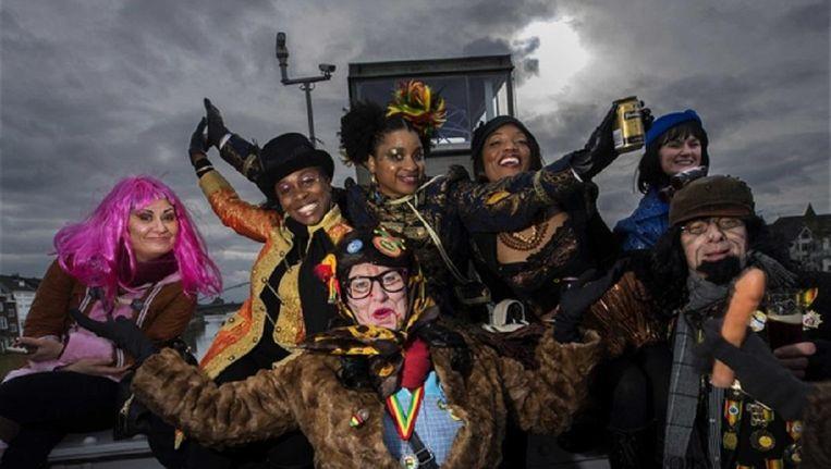 Carnaval in Maastricht Beeld anp