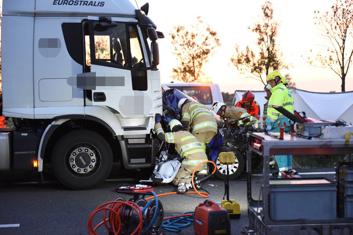 Ongeluk op de A2 bij Nieuwegein richting Utrecht