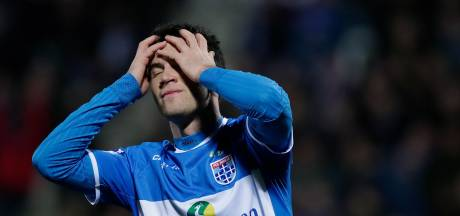 Lusteloos PEC Zwolle gaat af als een gieter tegen De Graafschap