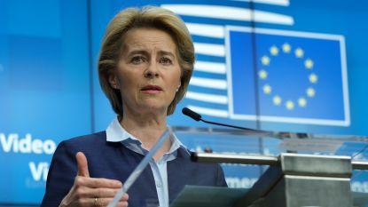 Europese Commissie moet voorstel voor economisch herstelfonds uitwerken