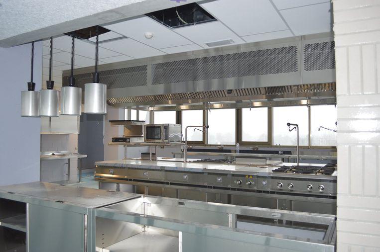 Een van de nieuwe keukens in de Foodbox in Oostende
