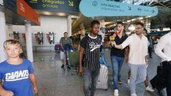 """TransferTalk. Diaby arriveert in Lissabon: """"Grote stap in mijn carrière"""" - Anderlecht stalt Sá in Turkije"""
