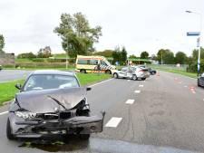 Ongeval met drie voertuigen aan Westerdreef in Lelystad