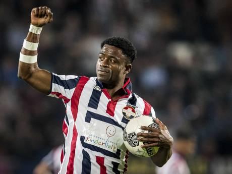 Voor Ogbeche rest nu nog één wedstrijd in Willem II-shirt