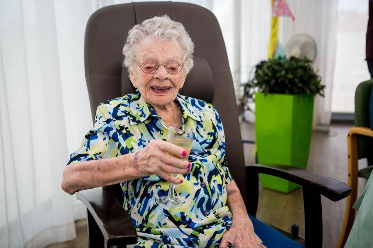 Adrienne Knudde werd maar liefst 109 jaar