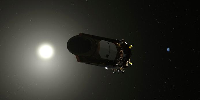 De Kepler ruimtetelescoop.