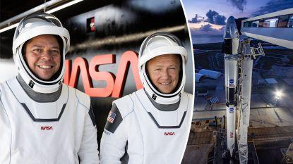 NASA berekende overlevingskansen van twee astronauten die met Crew Dragon van Elon Musk ruimte in geschoten worden