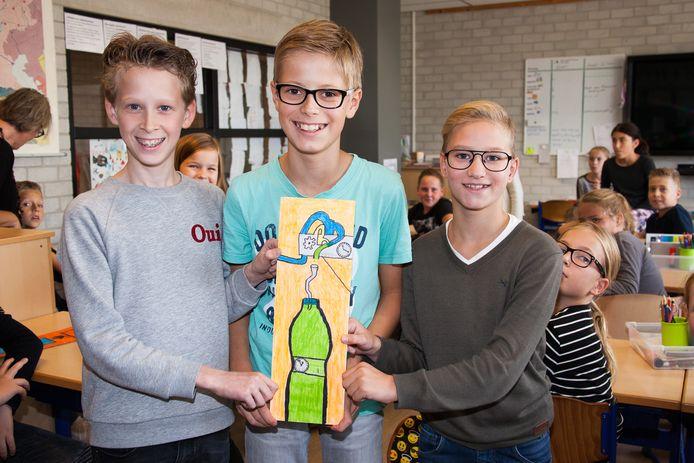 Het winnende ontwerp voor de banier 'Water voor Later' van De Bloemaert.