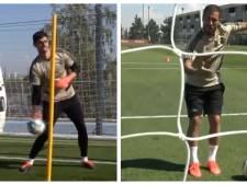 La connexion prometteuse entre Hazard et Benzema à l'entraînement du Real