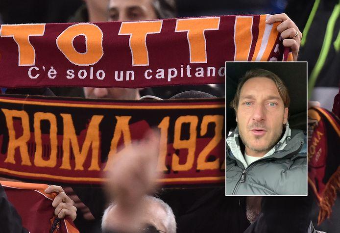 Inzet: Francesco Totti.