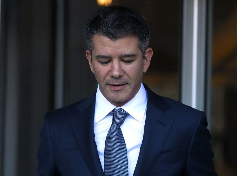 De voormalige topman van taxibedrijf Uber, Travis Kalanick. Beeld Getty