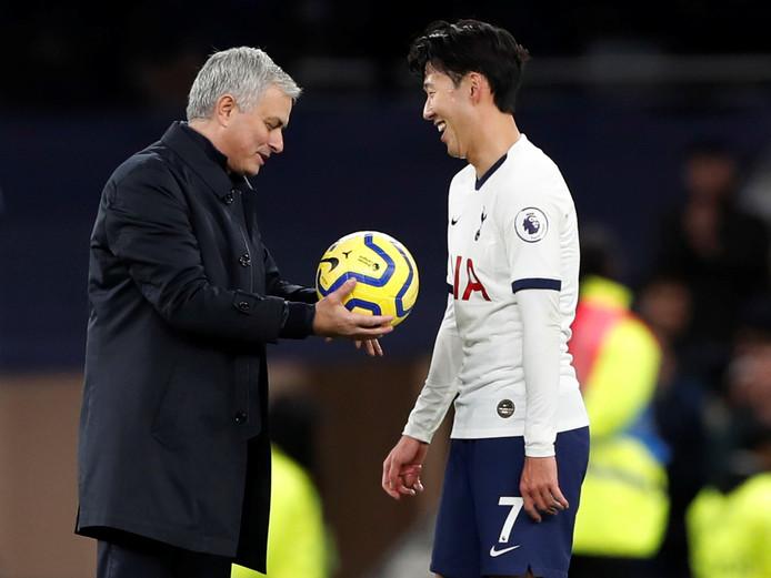 José Mourinho en Heung-min Son.