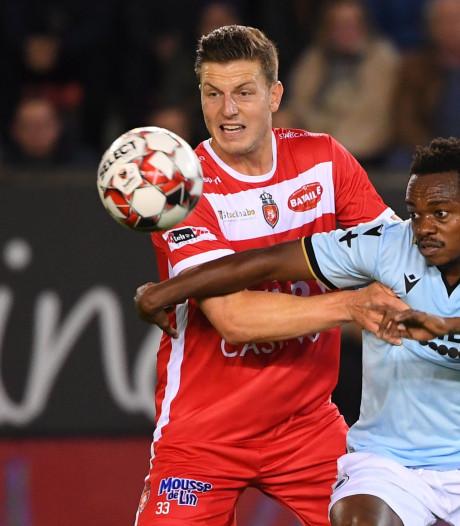 Le Club de Bruges inflige à Mouscron sa première défaite de la saison à domicile
