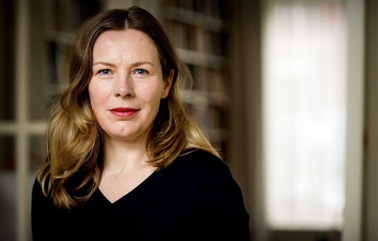 Esther Gerritsen werd al eerder genomineerd en is er dit jaar weer bij met 'De trooster'. Beeld ANP Kippa