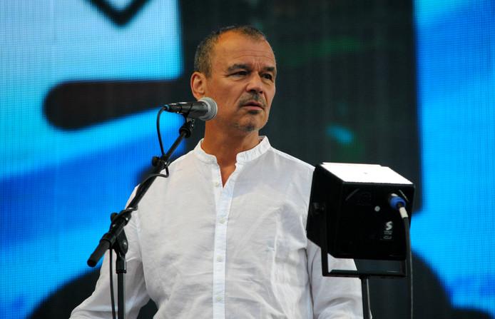 Doe Maar -toetsenist Ernst Jansz.