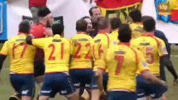 Wat doe je als een nationale rugbyploeg je helemaal rauw lust? Ref weet het wel na interland Zwarte Duivels