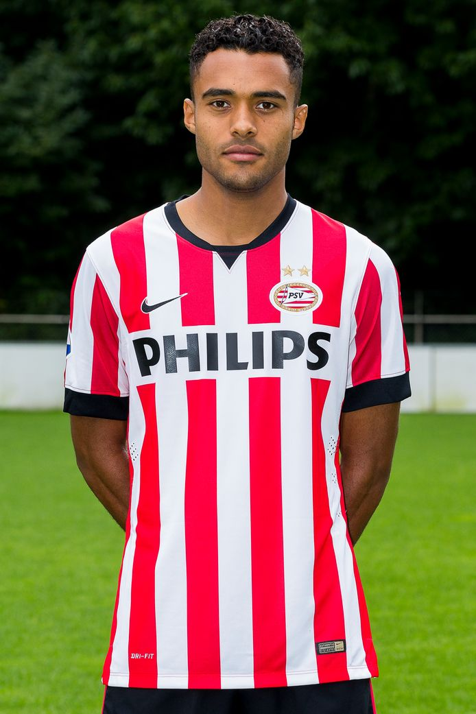 Abel Tamata in 2014 bij PSV.