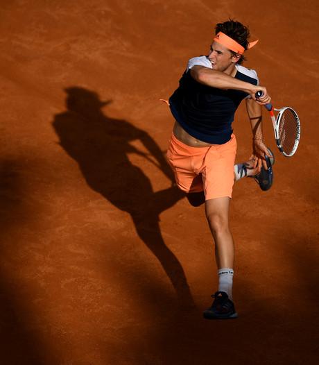 Thiem beëindigt zegereeks van gravelkoning Nadal