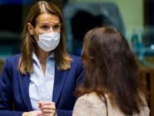 """Sophie Wilmès se place en isolement après des """"symptômes suspects"""""""