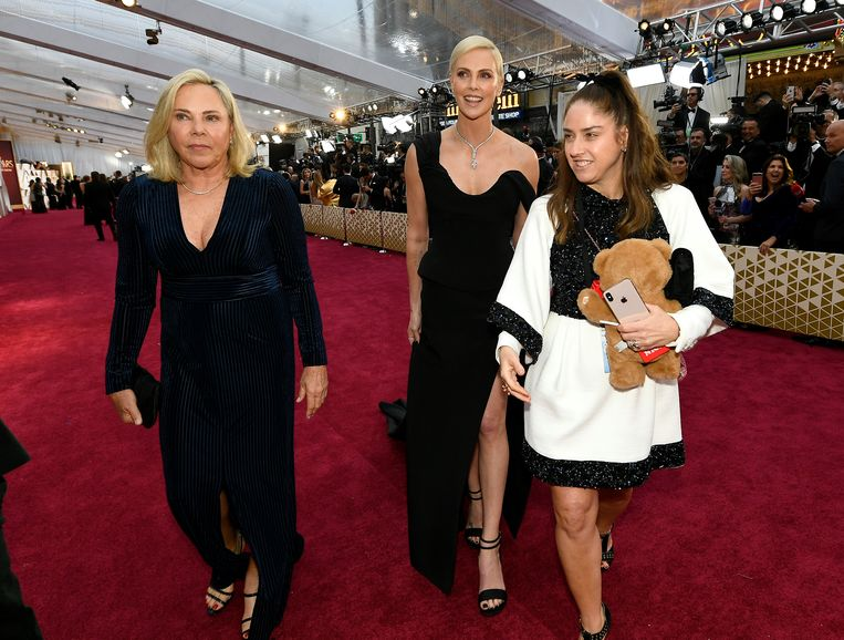 Gerda Jacoba Aletta Maritz met haar dochter Charlize Theron