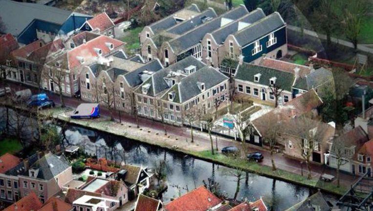 De notitie van architect Tjeerd Dijkstra over het complex in Edam. Beeld null