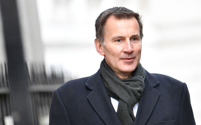 Brits minister van Buitenlandse Zaken Jeremy Hunt