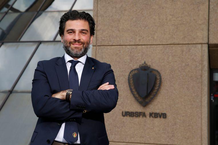 Mehdi Bayat, de voorzitter van de KBVB.