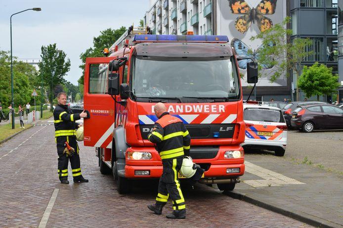 Keukenbrandje in Breda.