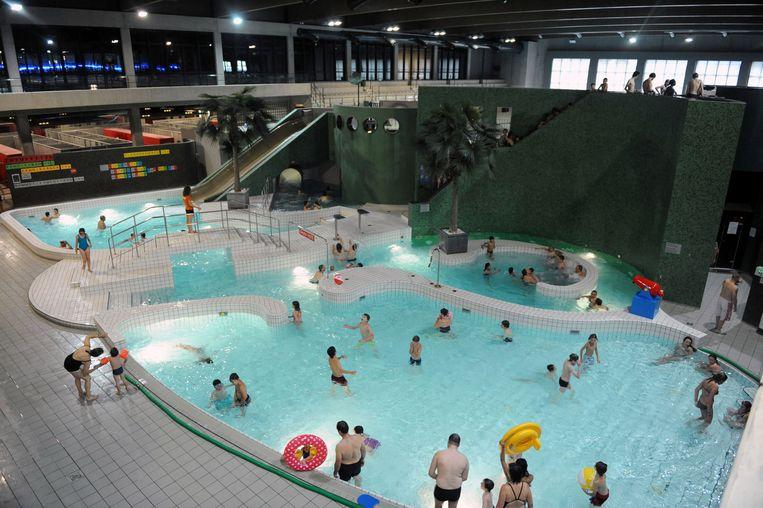 Het Leuvense Sportoasezwembad.