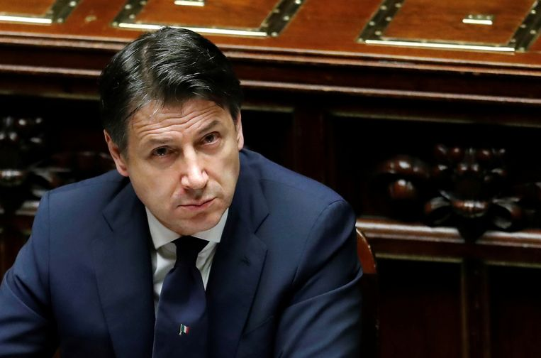 De Italiaanse premier Giuseppe Conte kondigde gisterenavond een versoepeling van de maatregelen vanaf 4 mei aan.