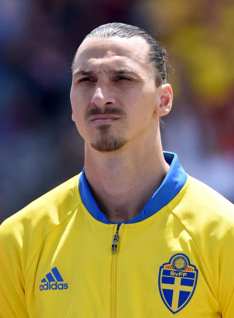 Voetballer Zlatan Ibrahimovic Beeld getty