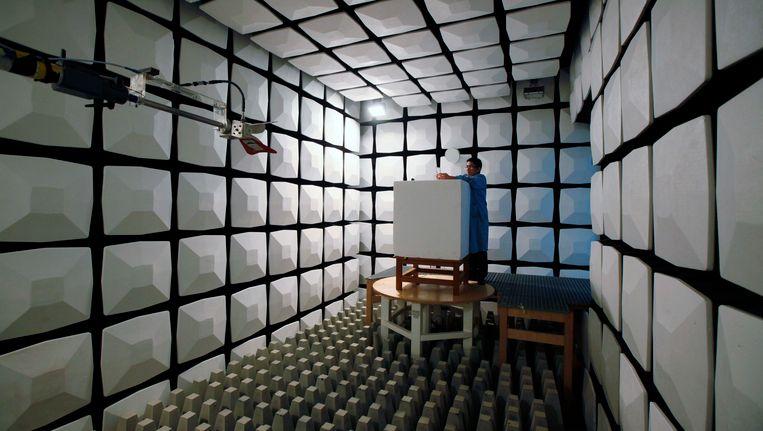 Een anechoïsche kamer.