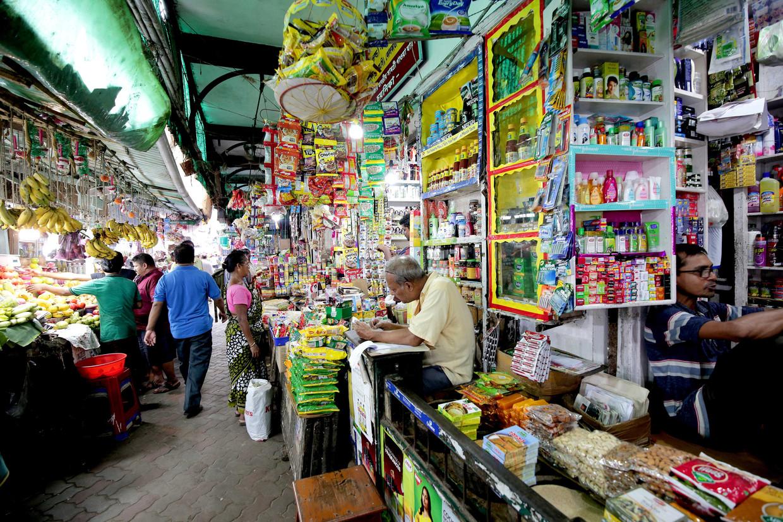 Een bruisende  Indiase markt