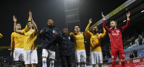 De Graafschap loopt twee punten uit op hekkensluiter NAC Breda