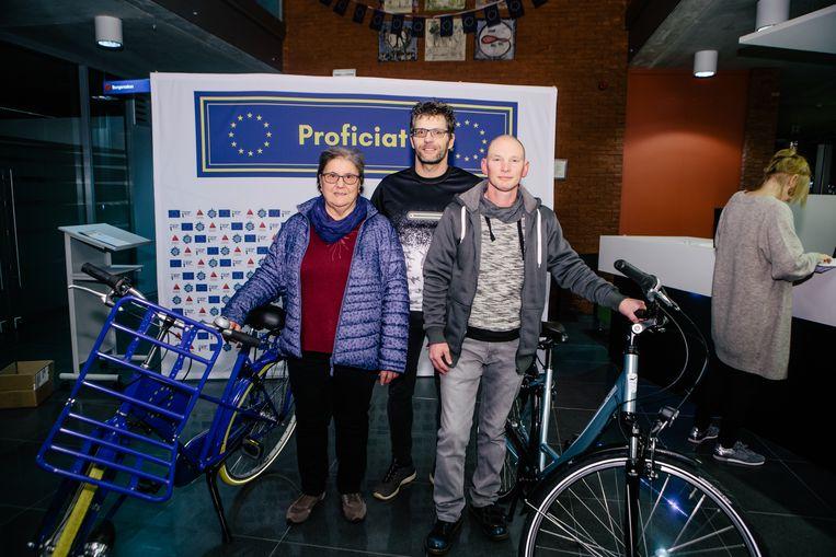 Winnaars fietsen Pop Up Europa