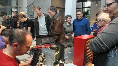 Je spullen laten of leren herstellen kan op repairmarkt in Brandwoeker