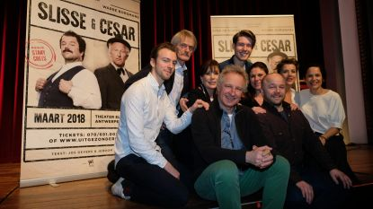 Slisse en Cesar herleven in theater