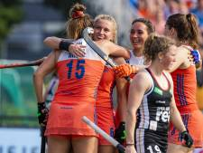 Hockeysters Oranje kloppen ook Duitsland in Eindhoven