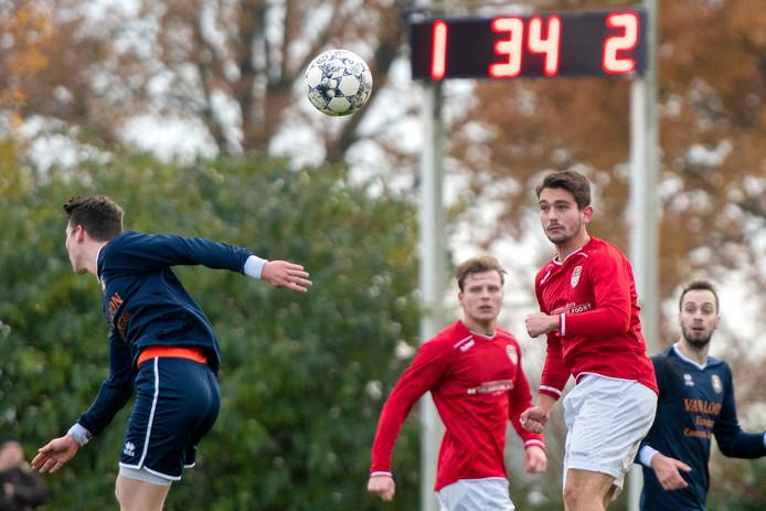 Thuiswedstrijd van SC Rheden, eerder dit seizoen.